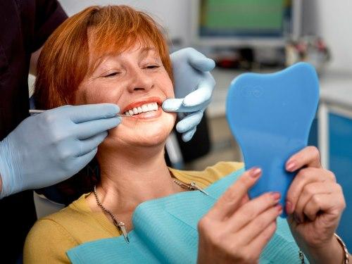 Съемные зубные протезы - фото